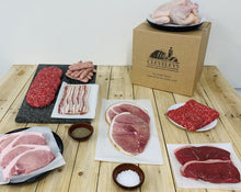 Load image into Gallery viewer, Butcher's Tri Steak Meat Box