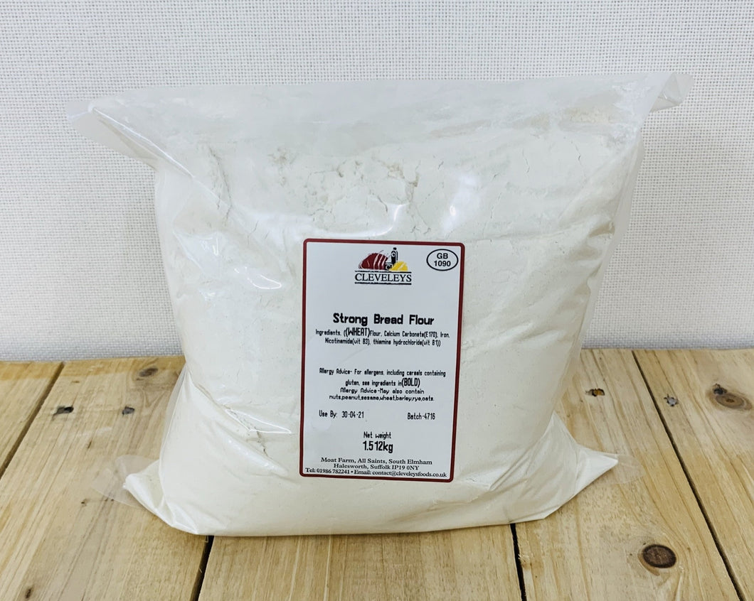 Heygates Strong White Bread Flour 1.5kg