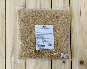 Long Grain Rice (brown) 1kg
