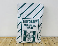 Load image into Gallery viewer, 16kg Heygates Self Raising Flour + Free Granulated and Icing Sugar