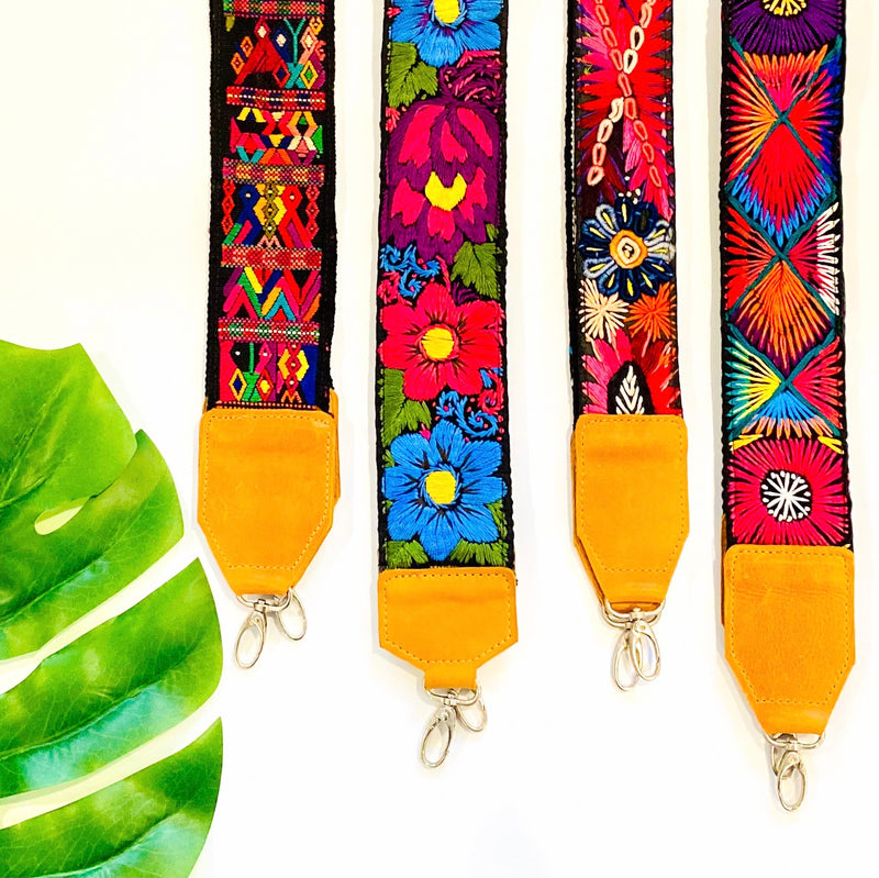 Embroidered Straps