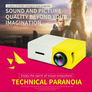 Portable Mini Projector - The New Home Cinema - ShopiBox