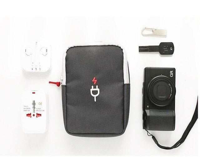 Portable Travel Bag Electronic Digital Storage Package Mobile Phone Charging Treasure