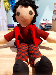 Locally Handmade Doll