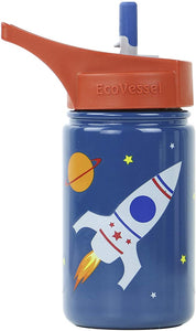 Eco Vessel Stainless Steel 13 oz Water Bottle