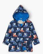Load image into Gallery viewer, Hatley Dragons Colour Changing Raincoat