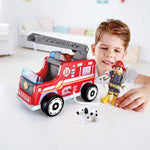 Load image into Gallery viewer, Hape Firetruck