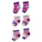 Load image into Gallery viewer, Smartwool Baby Bootie Batch Socks Trio Gift Set