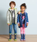 Load image into Gallery viewer, Hatley Lightning Bolts Microfiber Rain Jacket