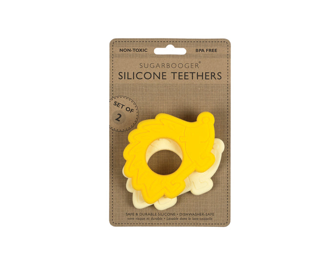 Sugar Booger Silicone Teether 2 Pack