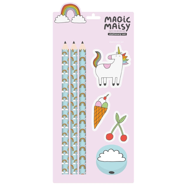 Magic Maisy Stationery Set