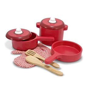 Melissa & Doug Wood Kitchen Accessory Set