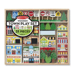 Load image into Gallery viewer, Melissa & Doug Wooden Town Play Set