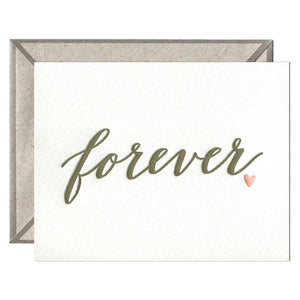 Forever Anniversary Card