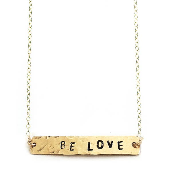 Be Love Necklace 14k Gold
