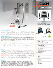 AM-6i Upright Exercise Bike