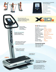 XG-10 Pro Whole Body Vibration Machine