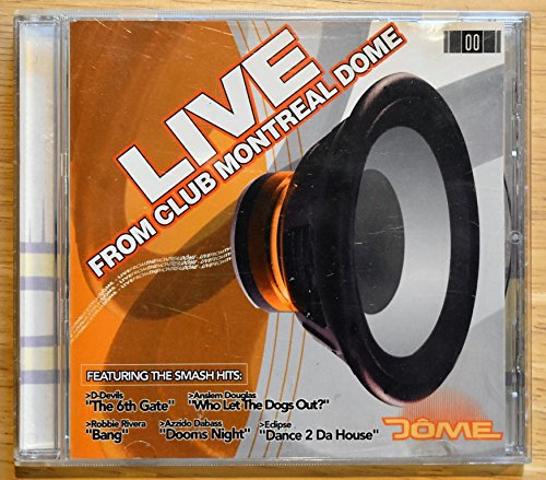 Live From Club Montreal Dome - M.C. Mario - Audio CD