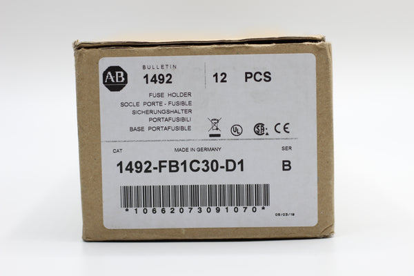 Allen-Bradley A-B Fuse Holder 1492-FB1C30-D1