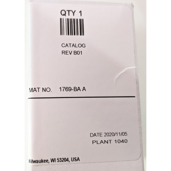 Allen-Bradley 1769-BA Series A Genuine Original CompactLogix Battery, Lithium, 3V 850 mAh