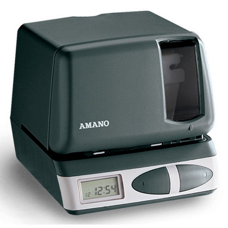 Amano PIX-21 Printing Time Clock/Employee Punch Clock