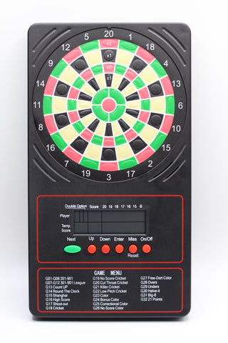 Arachnid Touchpad Darts Scorer, 8 Players, 32 Games, Wall Mountable