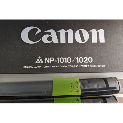 Canon NP-1010/1020 Toner Cartridge, Genuine Original Canon Brand, 2 Pack (1369A009AA)