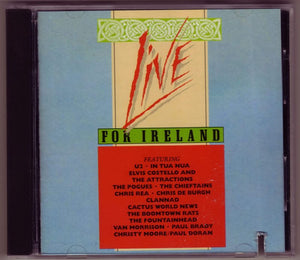 Various - Live For Ireland, Audio CD