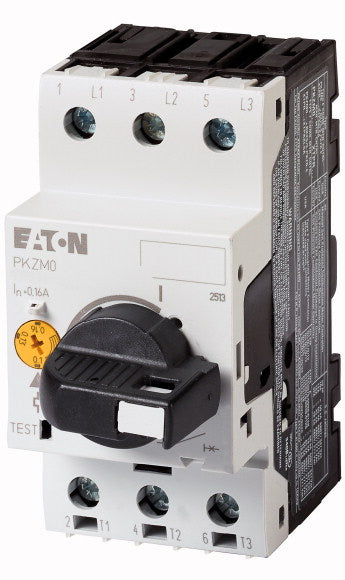 Eaton PKZM0-4/AK Motor Overload Circuit Breaker With Lockable Handle