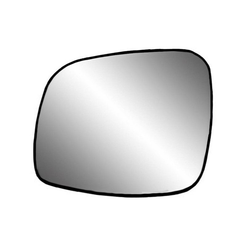 Fit System 33241 Driver Side Heated Replacement Mirror Glass with Backing Plate, Select Chrysler Minivan 2008-2018