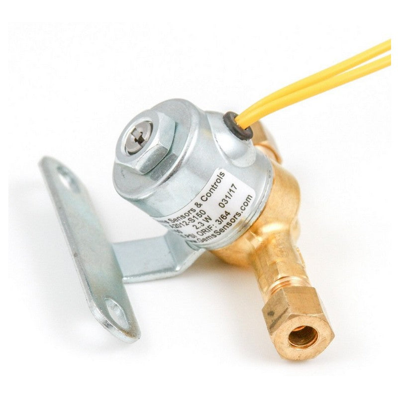 Gems Sensors A2012-S150 Replacement Humidifier Solenoid Valve, 24 V, 60 Hz AC, 125 PSI