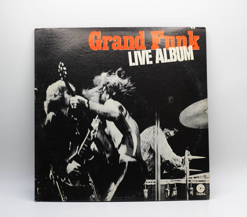 Grand Funk Railroad 1970 Live, Vinyl LP