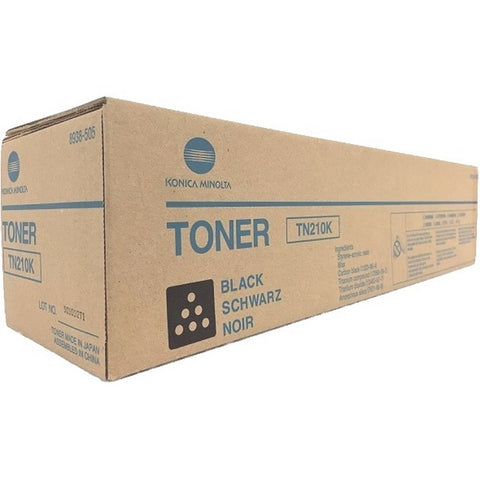 Konica Minolta TN210K Genuine Original Black Toner Cartridge (8938-505)