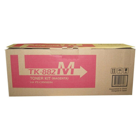 Kyocera Mita TK-882M Genuine Original Magenta Toner Cartridge For FS-C8500DN