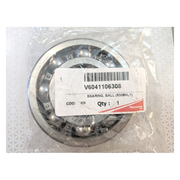 Mahindra V6041106308 Genuine Original OEM Ball Bearing