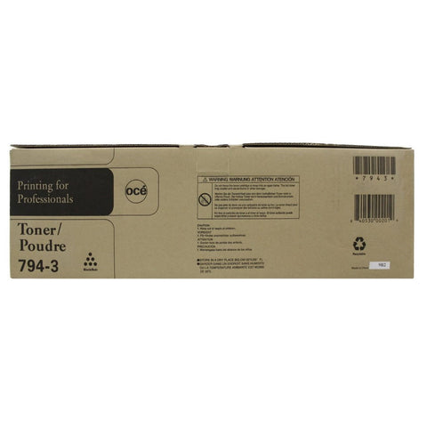 Oce/Imagistics/Pitney Bowes 794-3 Original Genuine Black Toner