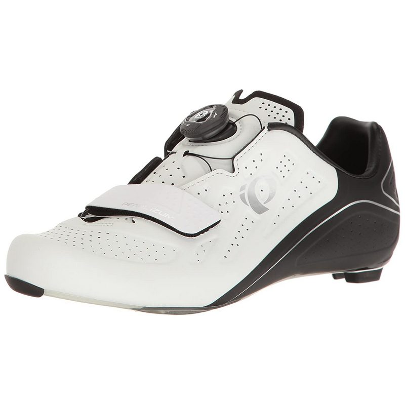Pearl Izumi Women's W Elite Road v5 Cycling Shoe, Size EU43/US11, Black & White
