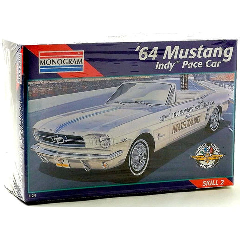 Revell-Monogram 2456 1/24 1964 Ford Mustang Indy Pace Car Model Car Kit
