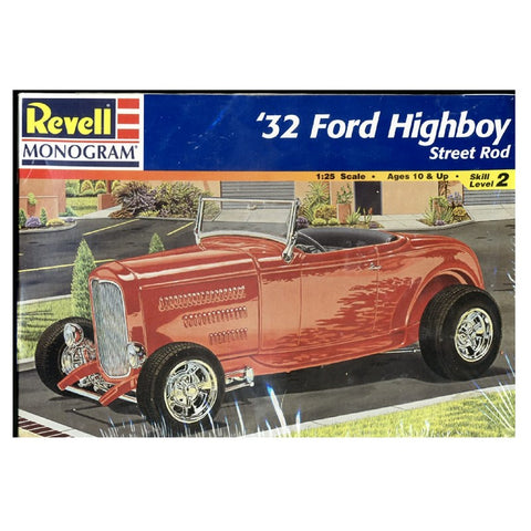 Revell-Monogram 7625 1/25 1932 Ford Highboy Street Rod Model Car Kit