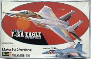 Revell F-15A Streak Eagle Model Airplane Kit, 1:48 Scale, Part No. H-288