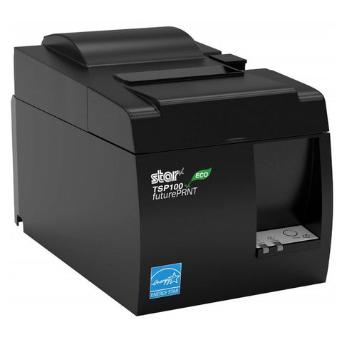 Star Micronics TSP100II - TSP143IIU Black USB Thermal Receipt Printer TSP100ECO