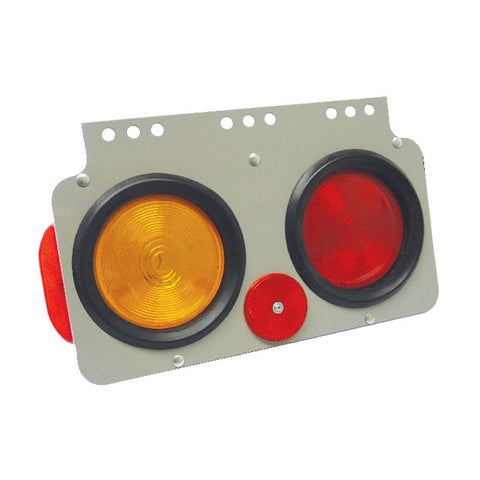 Techspan 700025 Stop/Turn/Tail Lamp Trailer Module Assembly Incandescent (Roadside)