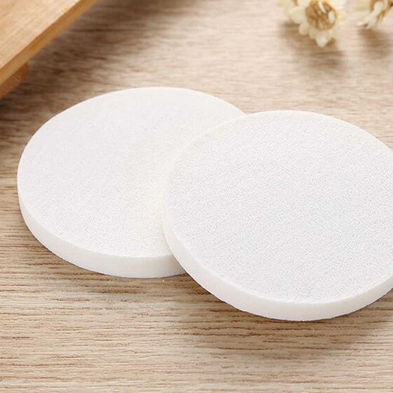 Apothecary Products Total Beauty Professional Grade Non-Latex Hypo-Allergenic Cosmetic Premium Round Sponges, Pack of 24