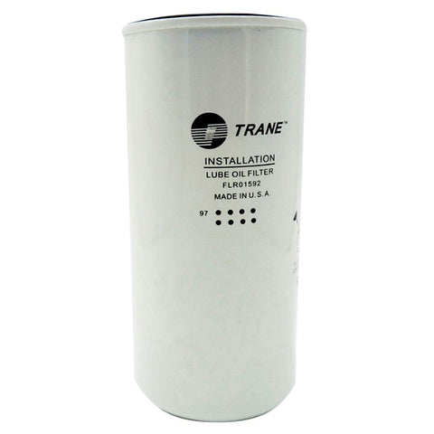 "Trane FLR-1592 / FLR01592, Spin-On Lube Oil Filter, 8"" Length, 3 Micron Rating"