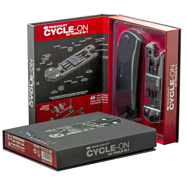 True Utility Cycle-On Multi Tool 30-In-1