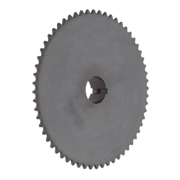 "Tsubaki 35B10FJ Finished Bore Sprocket, Single Strand, Hardened Teeth, Inch, 35 ANSI No, 3/8"" Pitch, 10 Teeth, 5/8"" Bore"