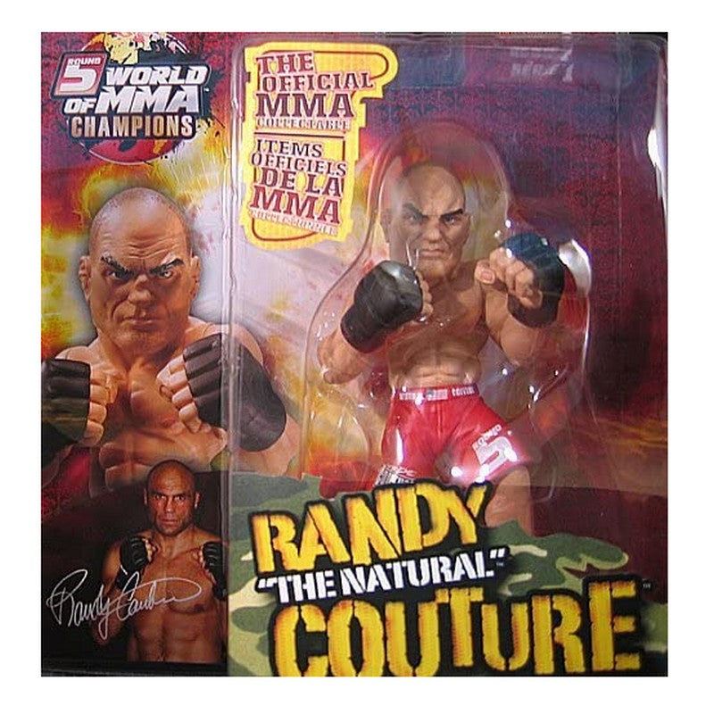 "UFC Series Randy ""The Natural"" Couture MMA Champion, 6"" Action Figurine"