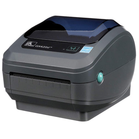Zebra GX420d  Thermal Label Barcode Printer (p/n: GX42-202410-000)