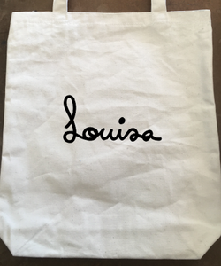 Tote bag Louisa - Sac en canevas