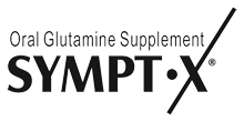 Sympt-X Glutamine Powder for Oral Solution | Glutamine Supplement Logo
